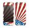 The Vintage Tan American Flag Skin for the Apple iPhone 5