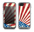 The Vintage Tan American Flag Skin for the Apple iPhone 5c LifeProof Fre Case
