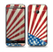 The Vintage Tan American Flag Skin for the HTC One M8