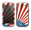 The Vintage Tan American Flag Skin for the Samsung Galaxy S3