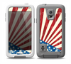 The Vintage Tan American Flag Skin for the Samsung Galaxy S5 frē LifeProof Case