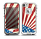 The Vintage Tan American Flag Skin for the iPhone 5-5s frē LifeProof Case