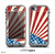 The Vintage Tan American Flag Skin for the iPhone 5c nüüd LifeProof Case
