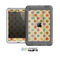 The Vintage Tan & Colored Polka Dots Skin for the Apple iPad Mini LifeProof Case