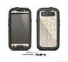 The Vintage Tiny Polka Dot Pattern Skin For The Samsung Galaxy S3 LifeProof Case