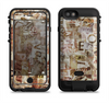 the vintage torn newspaper collage  iPhone 6/6s Plus LifeProof Fre POWER Case Skin Kit