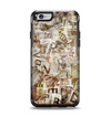 The Vintage Torn Newspaper Collage Apple iPhone 6 Otterbox Symmetry Case Skin Set
