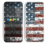 The Vintage USA Flag Skin for the Apple iPhone 5c