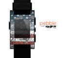 The Vintage USA Flag Skin for the Pebble SmartWatch