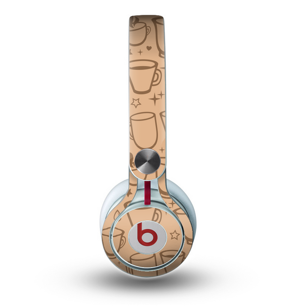 The Vintage Vector Coffee Mugs Skin for the Beats by Dre Mixr Headphones