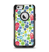 The Vintage Vector Heart Buttons Apple iPhone 6 Otterbox Commuter Case Skin Set