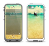The Vintage Vibrant Beach Scene Apple iPhone 5-5s LifeProof Fre Case Skin Set