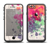The Vintage WaterColor Droplets Apple iPhone 6 LifeProof Fre Case Skin Set