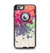 The Vintage WaterColor Droplets Apple iPhone 6 Otterbox Defender Case Skin Set