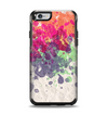 The Vintage WaterColor Droplets Apple iPhone 6 Otterbox Symmetry Case Skin Set