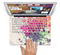 "The Vintage WaterColor Droplets Skin Set for the Apple MacBook Pro 15"" with Retina Display"