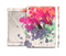 The Vintage WaterColor Droplets Full Body Skin Set for the Apple iPad Mini 3