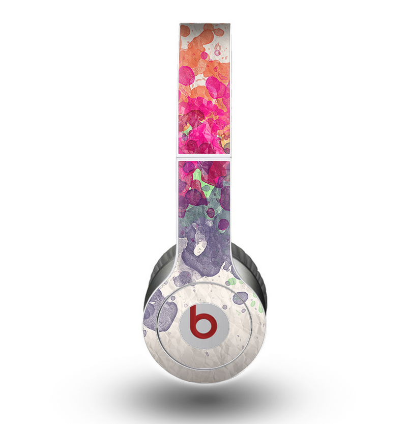 The Vintage WaterColor Droplets Skin for the Beats by Dre Original Solo-Solo HD Headphones