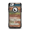 The Vintage Wood Planks Apple iPhone 6 Otterbox Commuter Case Skin Set