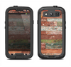 The Vintage Wood Planks Samsung Galaxy S3 LifeProof Fre Case Skin Set