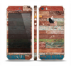 The Vintage Wood Planks Skin Set for the Apple iPhone 5s