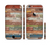 The Vintage Wood Planks Sectioned Skin Series for the Apple iPhone 6