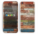 The Vintage Wood Planks Skin for the Apple iPhone 5c