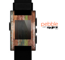 The Vintage Wood Planks Skin for the Pebble SmartWatch