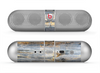 The Vintage Wooden Planks with Yellow Paint Skin for the Beats by Dre Pill Bluetooth Speaker