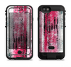 the vintage worn pink paint  iPhone 6/6s Plus LifeProof Fre POWER Case Skin Kit
