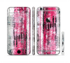 The Vintage Worn Pink Paint Sectioned Skin Series for the Apple iPhone 6 Plus