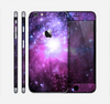 The Violet Glowing Nebula Skin for the Apple iPhone 6 Plus