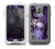 The Violet with Black Highlighted Spirals Skin Samsung Galaxy S5 frē LifeProof Case