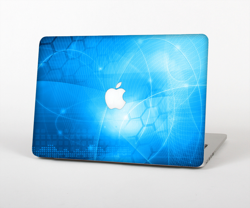 "The Vivid Blue Fantasy Surface Skin Set for the Apple MacBook Pro 15"" with Retina Display"