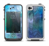 The Vivid Blue Sagging Painted Surface Apple iPhone 4-4s LifeProof Fre Case Skin Set