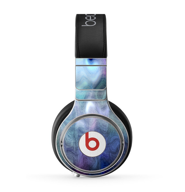 The Vivid Blue Sagging Painted Surface Skin for the Beats by Dre Pro Headphones