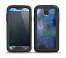 The Vivid Blue Sagging Painted Surface Skin for the Samsung Galaxy S4 frē LifeProof Case