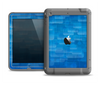 The Vivid Blue Techno Lines Apple iPad Air LifeProof Fre Case Skin Set