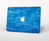 The Vivid Blue Techno Lines Skin Set for the Apple MacBook Air 13""