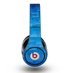 The Vivid Blue Techno Lines Skin for the Original Beats by Dre Studio Headphones