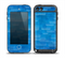 The Vivid Blue Techno Lines Skin for the iPod Touch 5th Generation frē LifeProof Case