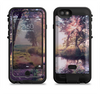 the vivid colored forrest scene  iPhone 6/6s Plus LifeProof Fre POWER Case Skin Kit