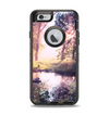 The Vivid Colored Forrest Scene Apple iPhone 6 Otterbox Defender Case Skin Set