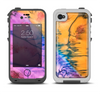 The Vivid Colored Wet-Paint Mixture Apple iPhone 4-4s LifeProof Fre Case Skin Set