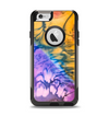 The Vivid Colored Wet-Paint Mixture Apple iPhone 6 Otterbox Commuter Case Skin Set