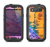The Vivid Colored Wet-Paint Mixture Samsung Galaxy S3 LifeProof Fre Case Skin Set