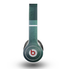The Vivid Emerald Green Sponge Texture Skin for the Beats by Dre Original Solo-Solo HD Headphones