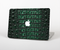 "The Vivid Green Crocodile Skin Skin Set for the Apple MacBook Pro 15"" with Retina Display"
