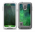 The Vivid Green Sagging Painted Surface Skin Samsung Galaxy S5 frē LifeProof Case