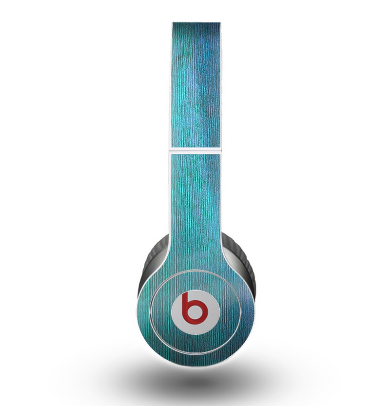 The Vivid Green Watercolor Panel Skin for the Beats by Dre Original Solo-Solo HD Headphones